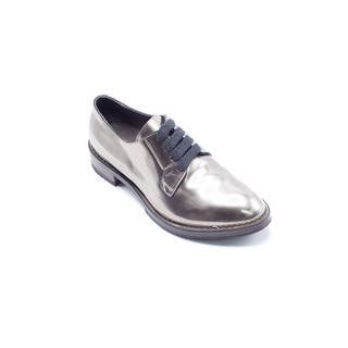 Brunello Cucinelli Womens Metallic LaceUp Silver Oxfords - 7 https://ak1.ostkcdn.com/images/products/is/images/direct/a6205a44866ee9a964d03bfdc6fa90610286eb1b/Brunello-Cucinelli-Womens-Metallic-LaceUp-Silver-Oxfords.jpg?impolicy=medium