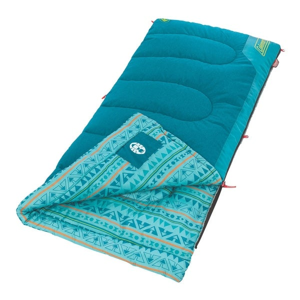 Coleman 2000025288 coleman 2000025288 sleeping bag youth 50 rect teal