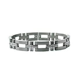 Titanium Open Link Men's Bracelet (12mm) 8.5 Inches