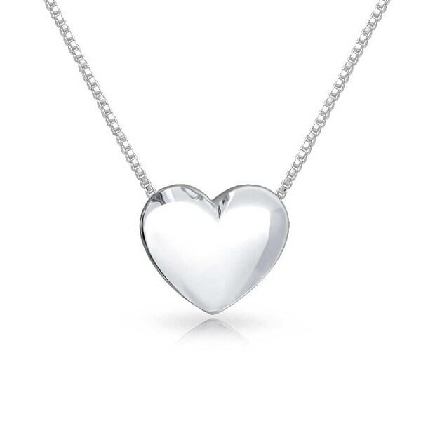 Women/'s cross in heart pendant chain necklace Sterling silver Diamonds Girl//Lady
