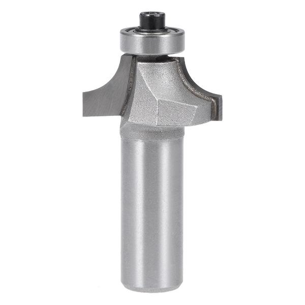 "Router Bit 1/2 Shank 5/8"" Cutting Dia Round Corner Tungsten for Milling Cutter - 1/2x3/8 inch 2pcs"