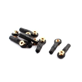 Unique Bargains 8Pcs Remote Control Car Tie Rod Ends Brass Ball Link 2x2x24mm