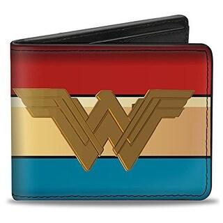 Buckle-Down Bifold Wallet Wonder Woman