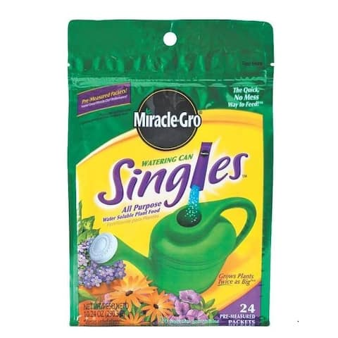 Miracle-Gro 1013202 Watering Can Singles, 24 Sticks