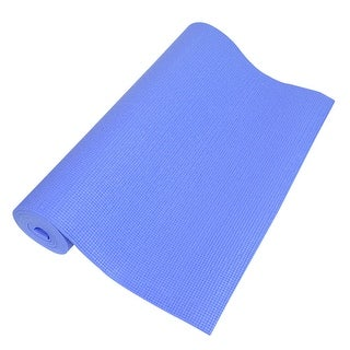 0.2   Thick Nonslip Sponge Yoga Mat Fitness Exercise Blue