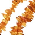 Baltic Amber Chips Beads 2-4 x 5-7mm / 24 Inch Strand - Thumbnail 0