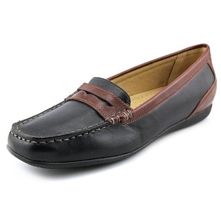 Trotters Francie II N/S Apron Toe Leather Loafer