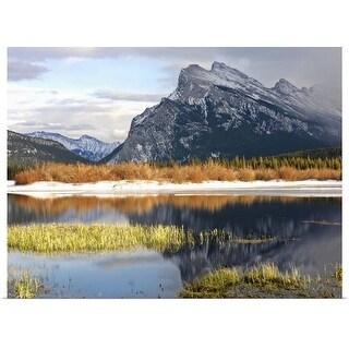 """Canada, Alberta, Banff, Banff National Park"" Poster Print"