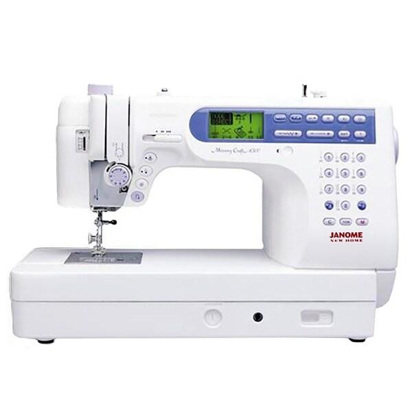 "Janome Memory Craft 6500P Refurbished Sewing Machine W/ Bonus Bundle - 18"" x 25.5"" x 13"""