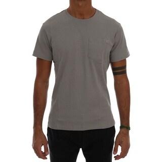 Versace Jeans Versace Jeans Gray Cotton Crewneck T-Shirt