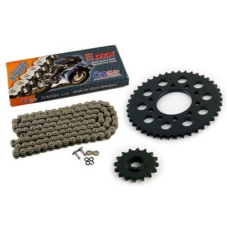 1994 1995 Honda VF750C Magna 750 CZ DZX X Ring Chain and Sprocket Kit 16/42 120L