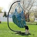 Sunnydaze Jumbo Hanging Chair Hammock Swing - Thumbnail 2