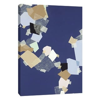 """PTM Images 9-108497  PTM Canvas Collection 10"""" x 8"""" - """"Patchwork 6"""" Giclee Abstract Art Print on Canvas"""