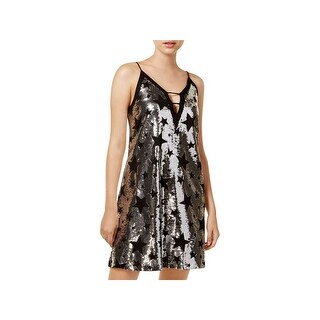 XOXO Womens Juniors Cocktail Dress Party Sleeveless