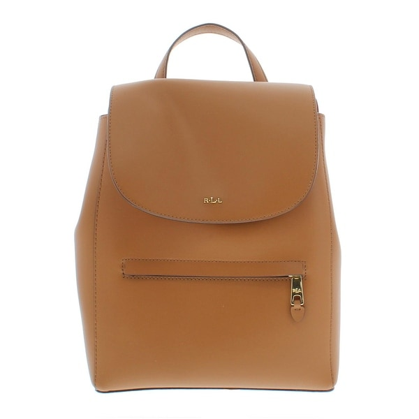 0fac0f4236db Shop Lauren Ralph Lauren Womens Dryden Ellen Backpack Leather Flap ...