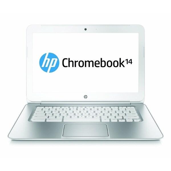 "Manufacturer Refurbished - HP 14-ak013dx 14"" Chromebook Intel Celeron N2840 2.16GHz 2GB 16GB Chrome OS"