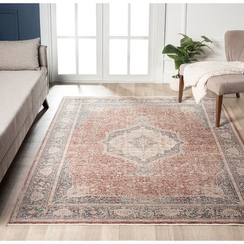 Ferit Contemporary Transitional Area Rug