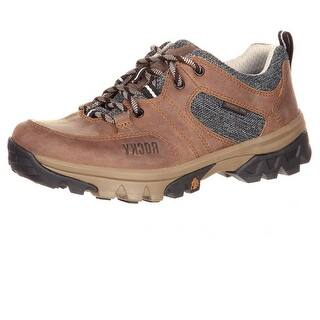 Rocky Outdoor Shoes Womens Endeavor Point Oxford Leather Brown Rks0297