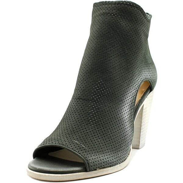 Dolce Vita Harem Women Open-Toe Leather Bootie