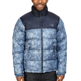 The North Face Nuptse Down Fill Puffer Jacket Shady Blue XX-Large