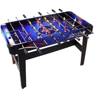 Costway 48'' Foosball Table Arcade Game Christmas Gift Soccer For Kids Indooor Outdoor