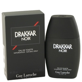 DRAKKAR NOIR by Guy Laroche Eau De Toilette Spray 1.7 oz - Men