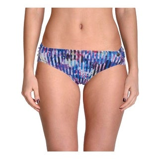 Raisins Womens Juniors Cocoa Beach Printed Shirred Swim Bottom Separates