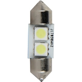 Pilot Automotive Super Bright LED Dome Light Bulb (2 LEDS Per Bulb)