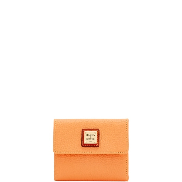 Dooney & Bourke Pebble Grain Small Flap Wallet (Introduced by Dooney & Bourke at $98 in Apr 2018)