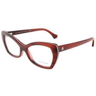Balenciaga BA5045/V 068 Mahogany Cat Eye prescription-eyewear-frames