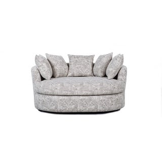 Link to Elegant Round Swivel Barrel Chair Similar Items in Living Room Chairs