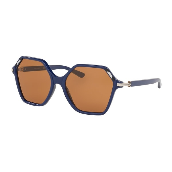 Tory Burch TY7139 178073 57 Navy Woman Irregular Sunglasses. Opens flyout.