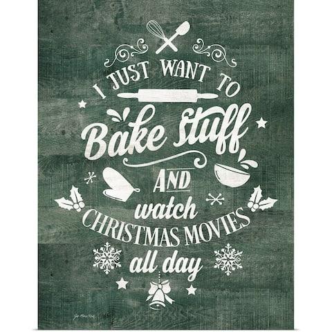 """Bake Stuff"" Poster Print"
