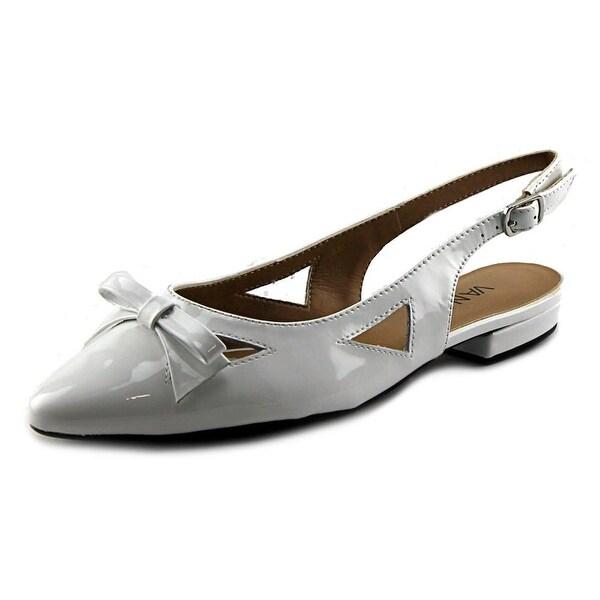 Vaneli Gervasy Round Toe Synthetic Slingback Sandal