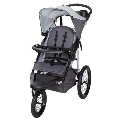 Baby Trend XCEL -R8 Jogging Stroller,Mirage Grey - Single Jogger