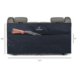 Elkton Back Seat Three Pocket Gun Case & Organizer
