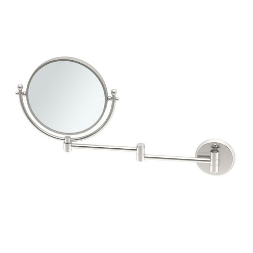 Shop Gatco 1426 Wall Mounted 8 Diameter Mirror With One Sided 3x