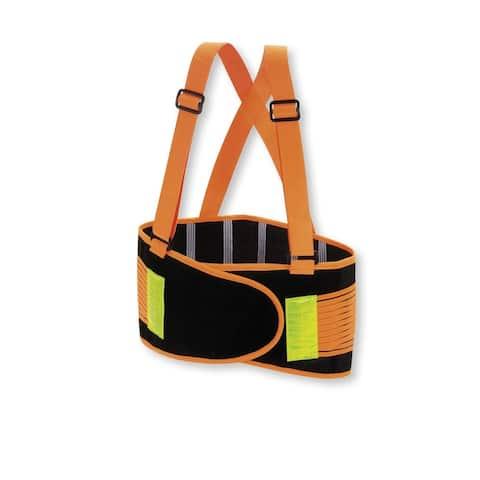 Valeo Industrial VHO8 High Visibility Back Support Lifting Belt VI9353