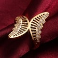 Hollow Gold Butterfly Ring - Thumbnail 3