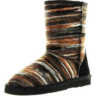 Lamo Womens Juarez Fashion Short Boots - Black - 7 b(m) us