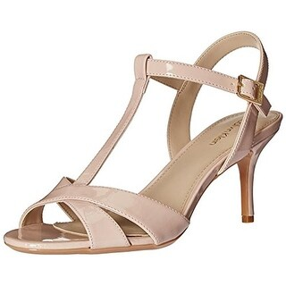 Calvin Klein Womens Laycie Dress Sandals Patent T-Strap