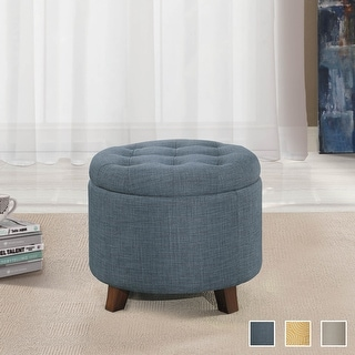 Link to Hilles Storage Ottoman Similar Items in Living Room Furniture