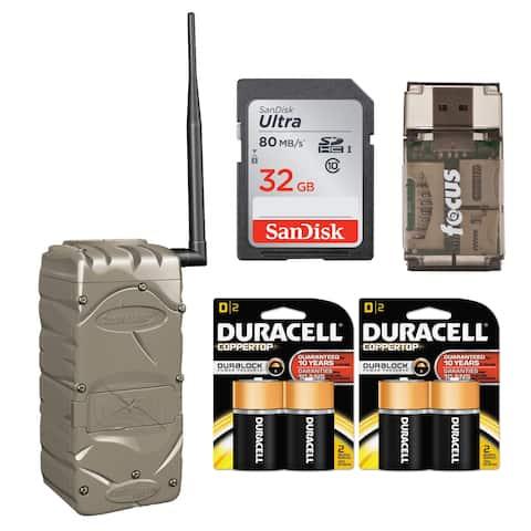 Cuddeback CuddeLink Home Wireless Receiver with Batteries Bundle