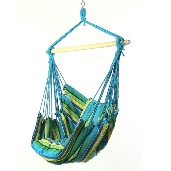Sunnydaze Hanging Hammock Swing - Multiple Colors