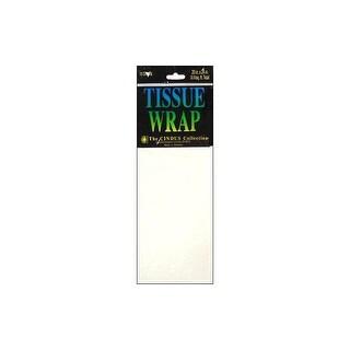 Cindus Tissue Wrap 20x20 10pc Solid White