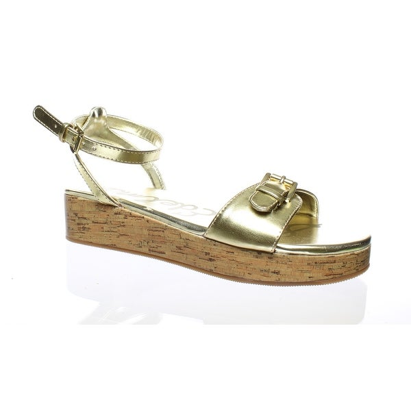 509ec305b Shop Sam Edelman Womens Liora-K Gold Metallic Sandals Size 4 - On ...