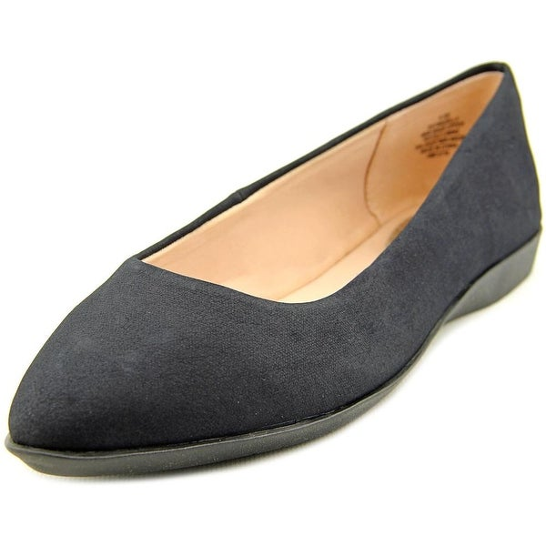 Easy Spirit e360 Madella Women Pointed Toe Synthetic Black Flats