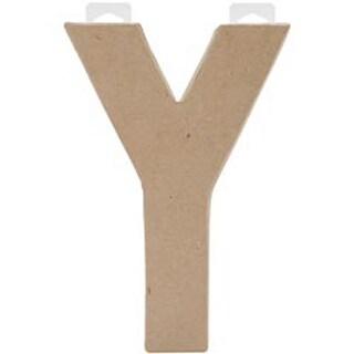 """Y - Paper-Mache Letter 8""""X5.5"""""""