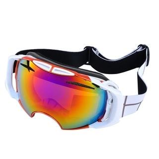 ODOLAND Anti-fog Snowboard Ski Goggles Glasses w/ Double Lens Women Men Adult Snowmobile Goggle