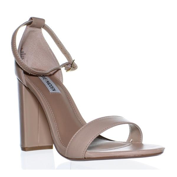 c40693d08e5 Shop Steve Madden Womens Carrson Blush Leather Ankle Strap Heels ...